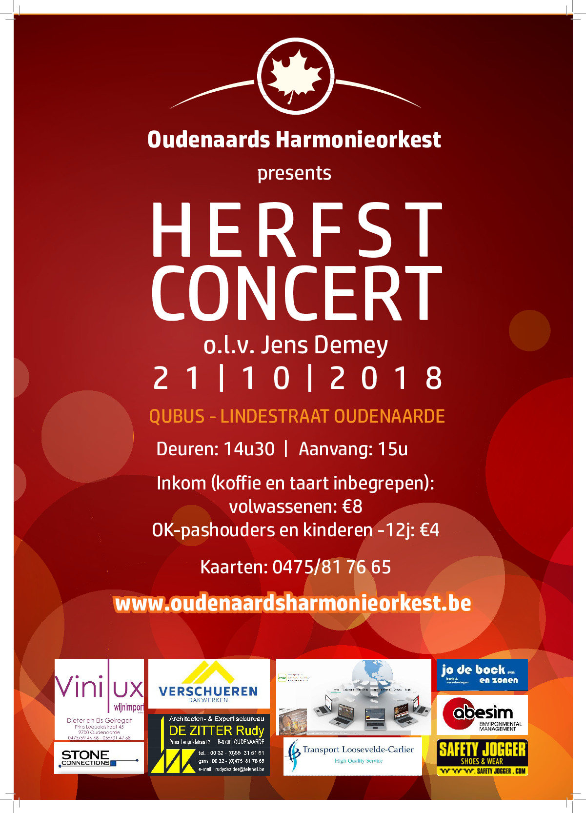 herfstconcert 2018 affiche page1